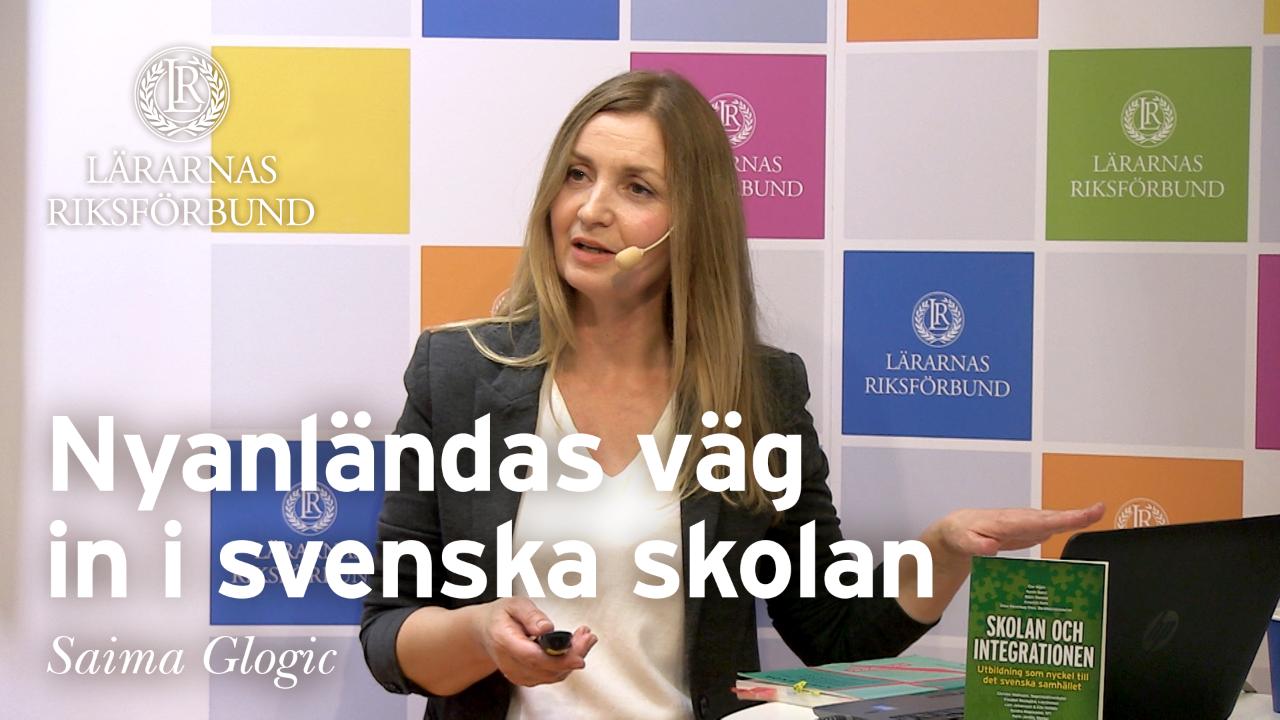 Nyanländas väg in i svenska skolan